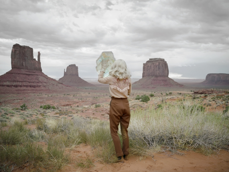 Anja Niemi - The Fictional Roadtrip, 2016 Chromogenic print, 44 x 59 inches Edition of 7 + 2APs, Signed by photographer