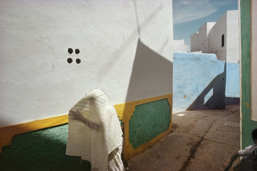 In the Casbah, Asilah, Morocco, 1988 Archival pigment print; printed later  13 1/8 x 19 3/4 inches