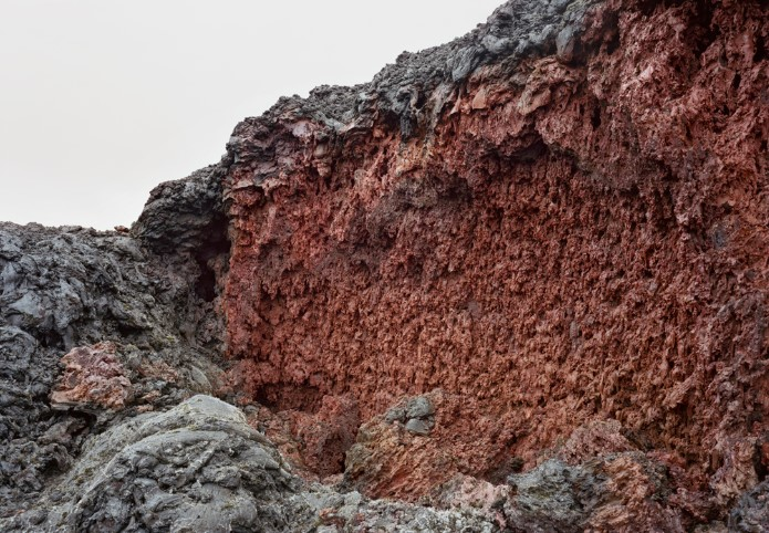 Peter Holzhauer, Recent Lava Formation 3, 2019 Archival pigment print 40 x 57 inches