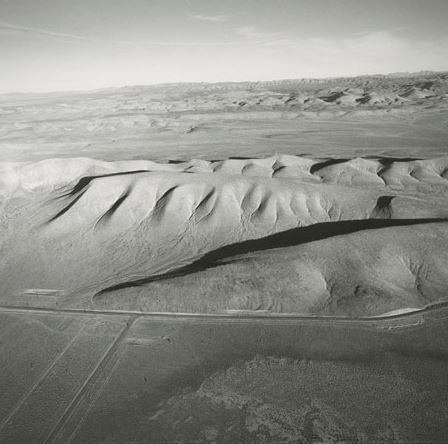 ©  Emmet Gowin - Looking East from yucca Lake towards Plutonium Valley, 1997