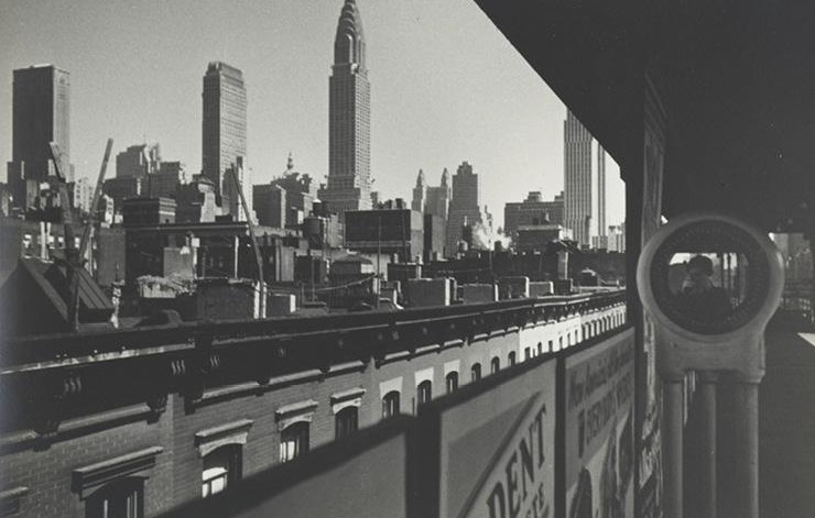 New York, the Elevated, and Me, 1936. Ilse Bing (American, 1899–1998). Gelatin silver print; 18.8 x 28.2 cm. The Cleveland Museum of Art, John L. Severance Fund, 1989.386. © Estate of Ilse Bing